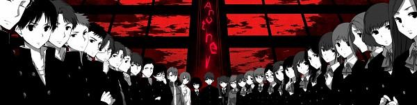Tags: Anime, Pixiv Id 617016, Another, Ouji Makoto, Misaki Mei, Ogura Yumi, Sakuragi Yukari, Teshigawara Naoya, Mochizuki Yuuya, Kanaki Anzu, Sugiura Takako, Akazawa Izumi, Matsui Aki