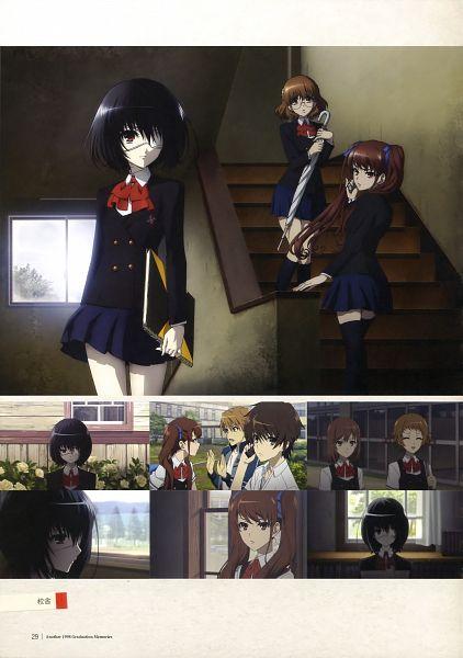 Tags: Anime, Ishii Yuriko, P.A. Works, Another, 1998 Graduation Memories, Sakuragi Yukari, Ogura Yumi, Akazawa Izumi, Sakakibara Kouichi, Ayano Aya (Another), Misaki Mei, Teshigawara Naoya, School Corridor