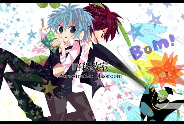 Tags: Anime, Pixiv Id 2972735, Ansatsu Kyoushitsu, Koro-sensei, Akabane Karma, Shiota Nagisa, Dynamite, Pixiv, Fanart, Fanart From Pixiv, Assassination Classroom