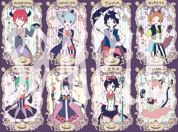 Tags: Anime, Pixiv Id 678327, Ansatsu Kyoushitsu, Okuda Manami, Maehara Hiroto, Kayano Kaede, Yada Touka, Akabane Karma, Isogai Yuuma, Kurahashi Hinano, Shiota Nagisa, Fanart From Pixiv, Pixiv, Assassination Classroom