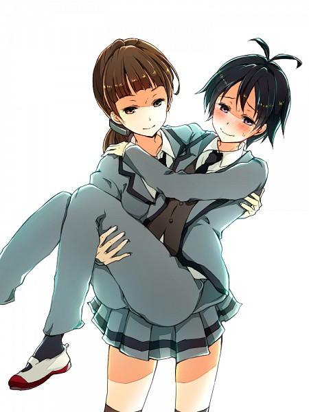 Tags: Anime, Pixiv Id 1013372, Ansatsu Kyoushitsu, Kataoka Megu, Isogai Yuuma, Pixiv, Fanart, Fanart From Pixiv, Assassination Classroom