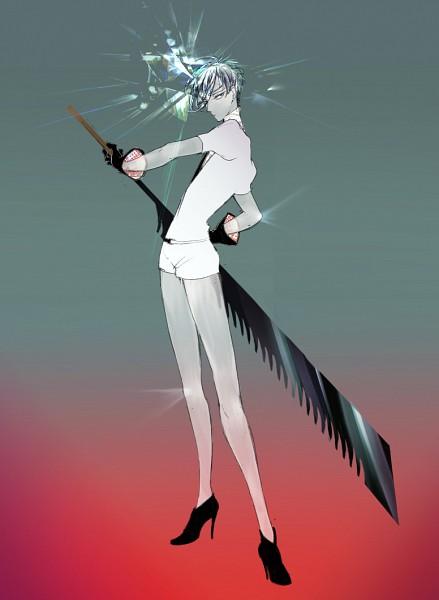 Tags: Anime, Pixiv Id 743648, Houseki no Kuni, Antarcticite, Fanart From Pixiv, Mobile Wallpaper, Pixiv, Fanart