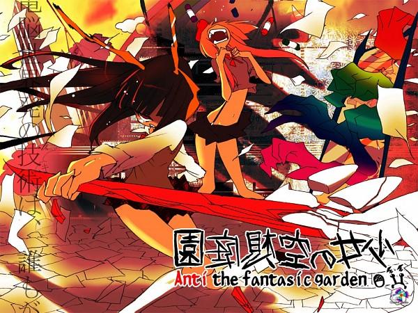 Tags: Anime, Chemical System Le, VOCALOID, Hatsune Miku, Shii-tan, Shoujo (Character), Kagamine Rin, Nanashi (Chemsys), Infinite Holic, Anti The Fantastic Garden, The Girl's Fantastic Garden, cosMo-p