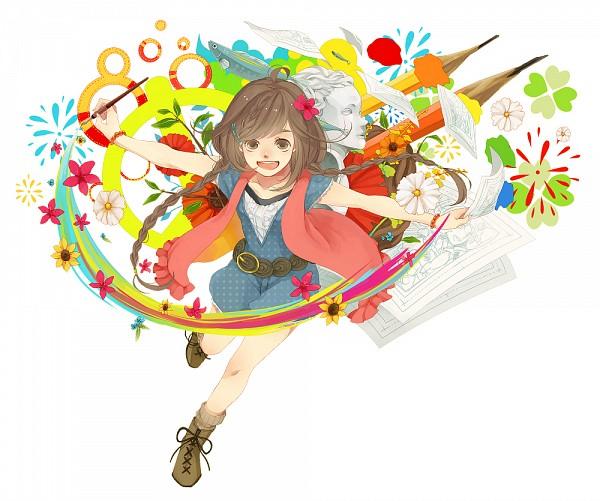 Tags: Anime, Anzu (astro75), Pixiv, Artist Evolution