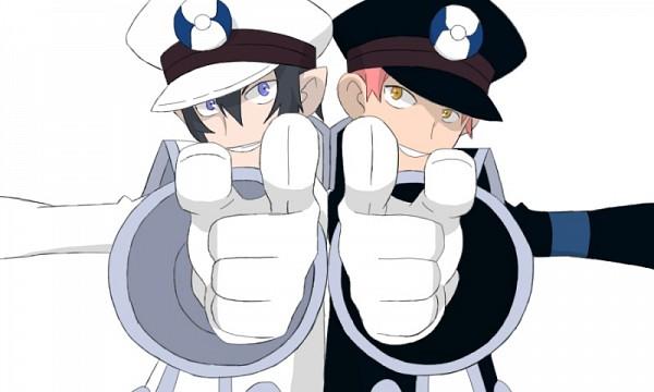 Tags: Anime, Ao no Exorcist, Shima Renzou, Okumura Rin, Kudari (Cosplay), Pokémon (Cosplay), Pokémon (Parody), Subway Masters (Cosplay), Nobori (Cosplay), Blue Exorcist