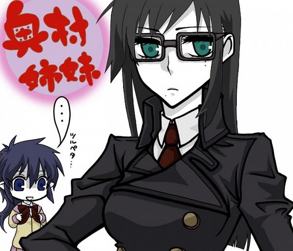 Tags: Anime, Pixiv Id 822978, Ao no Exorcist, Okumura Yukio, Okumura Rin, Blue Exorcist