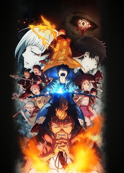 Tags: Anime, A-1 Pictures, Ao no Exorcist, Miwa Konekomaru, Suguro Tatsuma, Okumura Rin, Shima Juuzou, Kirigakure Shura, Moriyama Shiemi, Shima Renzou, Shima Kinzou, Kamiki Izumo, Houjou Mamushi, Blue Exorcist