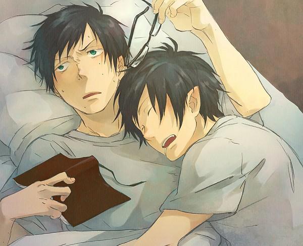 Tags: Anime, Pixiv Id 2678397, Ao no Exorcist, Okumura Yukio, Okumura Rin, Pixiv, Blue Exorcist
