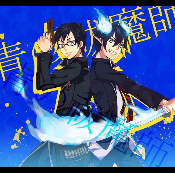Tags: Anime, Tian Daoling, Ao no Exorcist, Okumura Yukio, Okumura Rin, Pixiv, Blue Exorcist