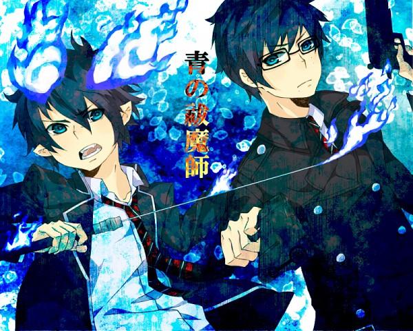 Tags: Anime, 921yamato, Ao no Exorcist, Okumura Yukio, Okumura Rin, Pixiv, Blue Exorcist