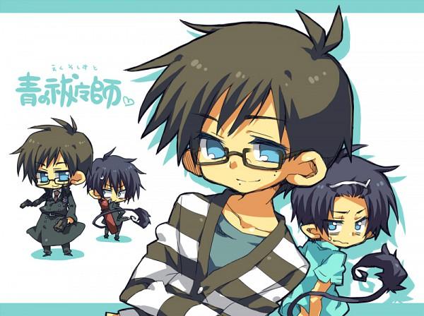 Tags: Anime, Pixiv Id 2977424, Ao no Exorcist, Okumura Yukio, Okumura Rin, Pixiv, Blue Exorcist