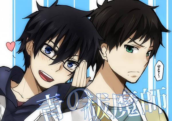 Tags: Anime, Kurot, Ao no Exorcist, Okumura Yukio, Okumura Rin, Pixiv, Fanart, Blue Exorcist