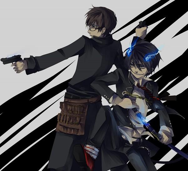 Tags: Anime, Jikei, Ao no Exorcist, Okumura Yukio, Okumura Rin, Blue Exorcist