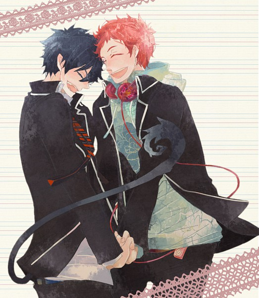 Tags: Anime, Pixiv Id 1819249, Ao no Exorcist, Okumura Rin, Shima Renzou, Blue Exorcist