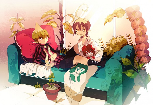 Tags: Anime, Ao no Exorcist, Mephisto Pheles, Amaimon, Pixiv, Fanart, Blue Exorcist