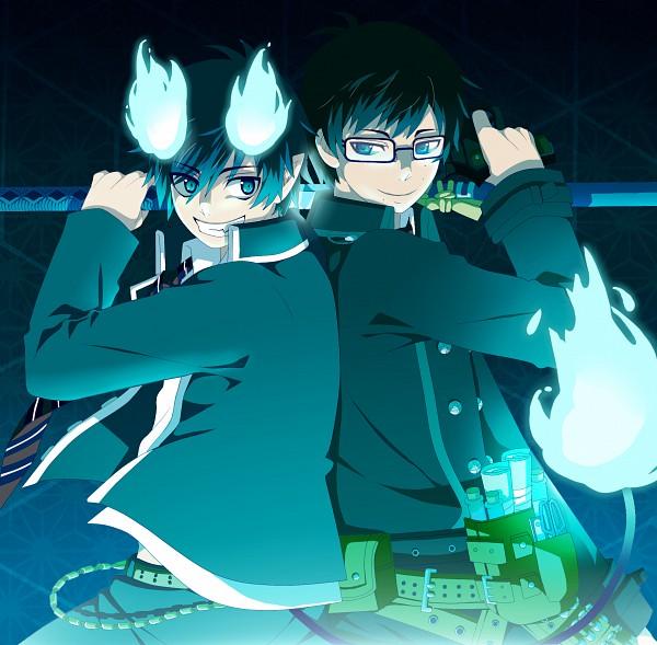 Tags: Anime, Ao no Exorcist, Okumura Rin, Okumura Yukio, Blue Exorcist