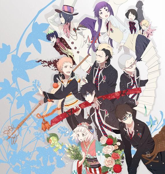 Tags: Anime, Paku, Okazaki Oka, Ao no Exorcist, Okumura Yukio, Ni, Mephisto Pheles, Okumura Rin, Moriyama Shiemi, Amaimon, Shima Renzou, Pakku, Suguro Ryuji, Blue Exorcist