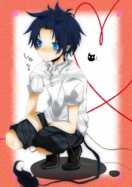 Tags: Anime, Pixiv Id 1945269, Ao no Exorcist, Okumura Rin, Pixiv, Fanart, Blue Exorcist
