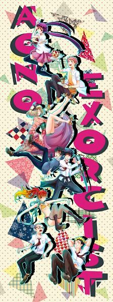 Tags: Anime, Ctt, Ao no Exorcist, Kamiki Izumo, Miwa Konekomaru, Okumura Yukio, Kirigakure Shura, Okumura Rin, Moriyama Shiemi, Shima Renzou, Suguro Ryuji, Fanart, PNG Conversion, Blue Exorcist