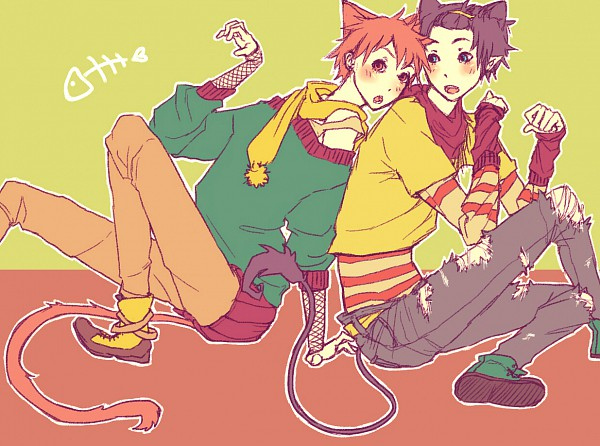 Tags: Anime, Ao no Exorcist, Shima Renzou, Okumura Rin, Blue Exorcist
