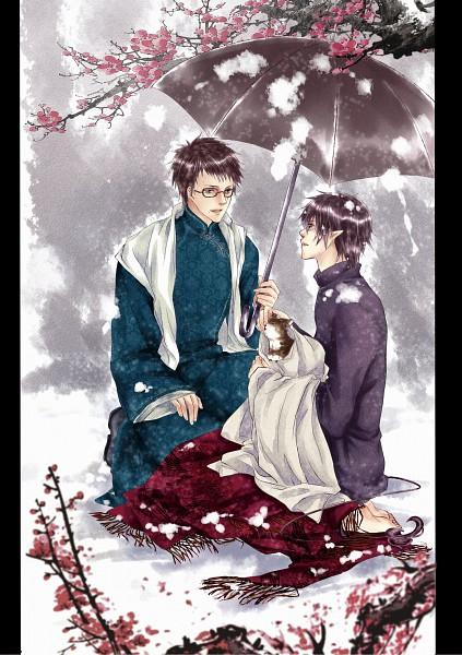 Tags: Anime, Pixiv Id 2402082, Ao no Exorcist, Okumura Yukio, Okumura Rin, Pixiv, Fanart, Blue Exorcist