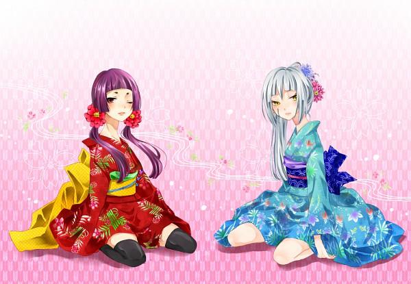 Tags: Anime, Ao no Exorcist, Houjou Mamushi, Kamiki Izumo, Blue Exorcist
