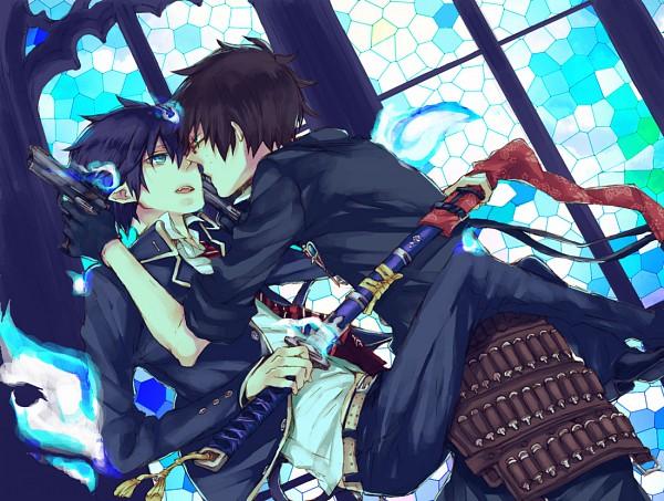 Tags: Anime, Pixiv Id 1200711, Ao no Exorcist, Okumura Rin, Okumura Yukio, Twincest, YukiRin (Pairing), Blue Exorcist