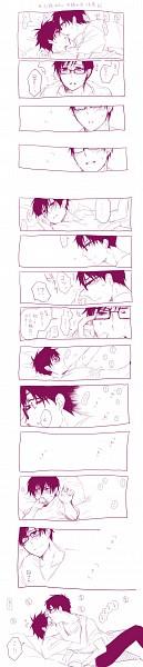 Tags: Anime, Pixiv Id 1117713, Ao no Exorcist, Okumura Yukio, Okumura Rin, Twincest, Pixiv, Comic, Translation Request, YukiRin (Pairing), Blue Exorcist