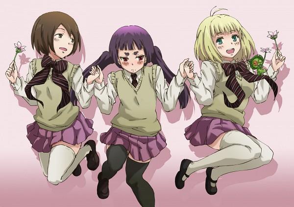 Tags: Anime, Suneo (Pixiv2897090), Ao no Exorcist, Kamiki Izumo, Paku Noriko, Ni, Moriyama Shiemi, Blue Exorcist