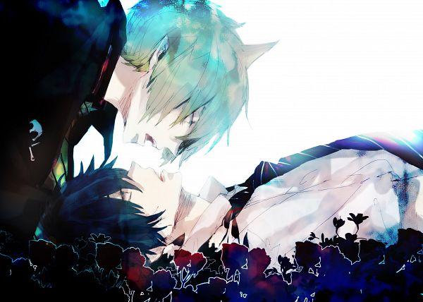 Tags: Anime, bambino, Ao no Exorcist, Okumura Rin, Amaimon, Pixiv, Fanart, Blue Exorcist