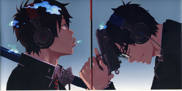 Tags: Anime, Whistling, Facebook Cover, Wallpaper, Blue Exorcist
