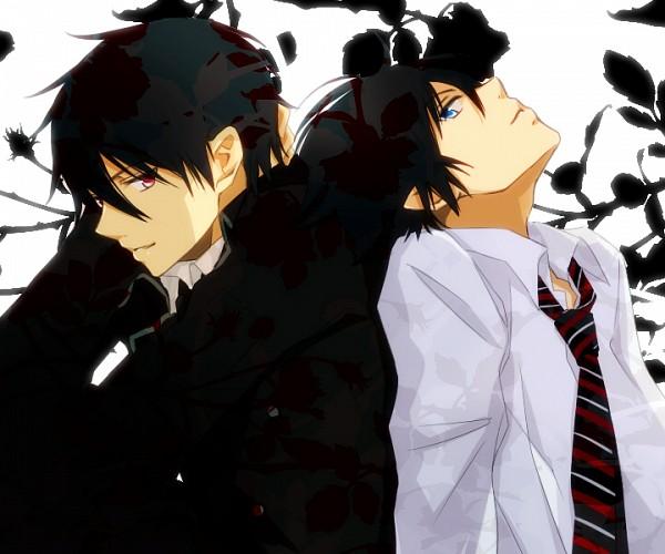 Tags: Anime, Tsukimori Usako, The Miyama-Uguisu Mansion Incident, Ao no Exorcist, Night (The Miyama-Uguisu Mansion Incident), Okumura Rin, Pixiv, Fanart, Blue Exorcist