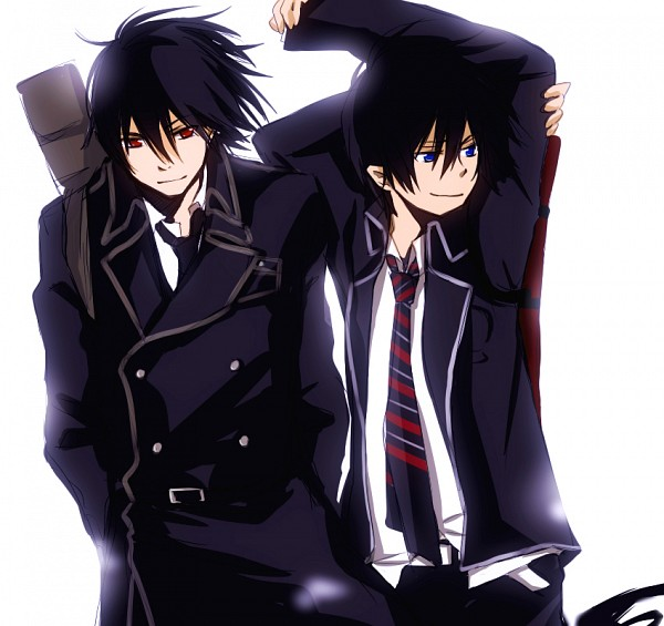 Tags: Anime, Tsukimori Usako, The Miyama-Uguisu Mansion Incident, Ao no Exorcist, Okumura Rin, Night (The Miyama-Uguisu Mansion Incident), Pixiv, Fanart, Blue Exorcist
