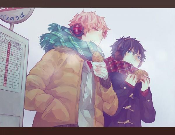 Tags: Anime, Uhyo, Ao no Exorcist, Shima Renzou, Okumura Rin, Pixiv, Fanart, Blue Exorcist