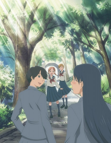 Tags: Anime, Aoi Hana, Ikumi Kyouko, Sugimoto Yasuko, Okudaira Akira, Manjoume Fumi, Artist Request, Official Art