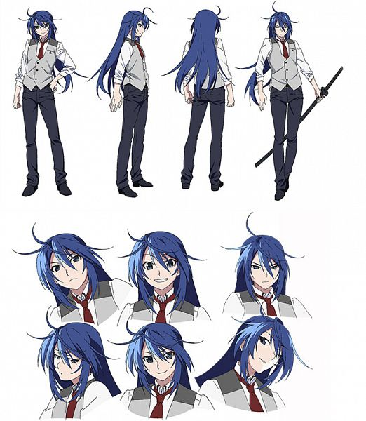 Tags: Anime, Watanabe Akio, Bibury Animation Studio, Grisaia: Phantom Trigger, Aoi Haruto, Official Art