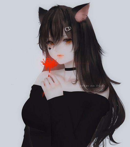 Tags: Anime, Aoi Ogata, Original, Commission, Pixiv