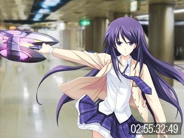Tags: Anime, ChäoS;HEAd, Aoi Sena, Wallpaper