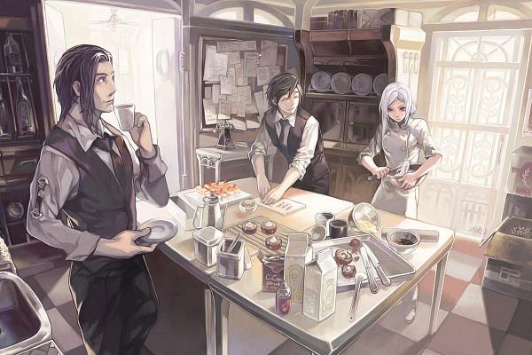 Tags: Anime, Aoinhatsu, Pixiv, Original