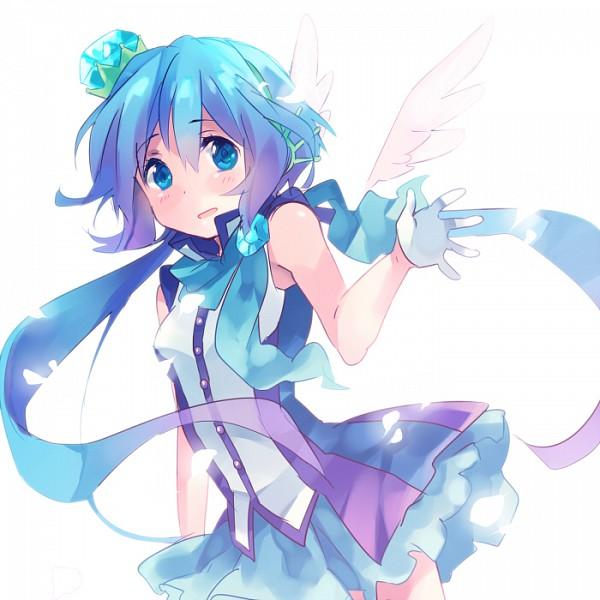 Tags: Anime, Ousaka Nozomi, VOCALOID, Aoki Lapis, Pixiv, Fanart