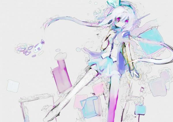 Tags: Anime, Eruri (Pixiv180354), VOCALOID, Aoki Lapis, Fanart
