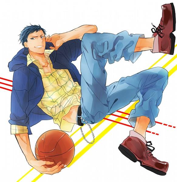 Tags: Anime, Pixiv Id 539034, Kuroko no Basuke, Aomine Daiki, Fanart From Pixiv, Pixiv, Fanart