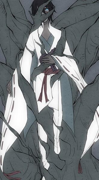 Tags: Anime, Pixiv Id 598228, Shinsekai Yori, Aonuma Shun, Mobile Wallpaper, Pixiv, Fanart, Fanart From Pixiv