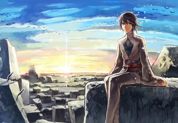 Tags: Anime, Pixiv Id 4051591, Shinsekai Yori, Aonuma Shun, Pixiv, Fanart