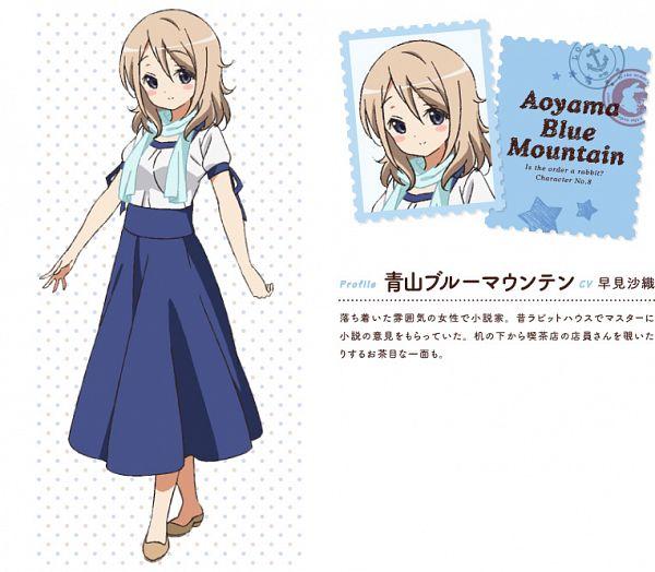 Aoyama Blue Mountain - Gochuumon wa Usagi Desu ka