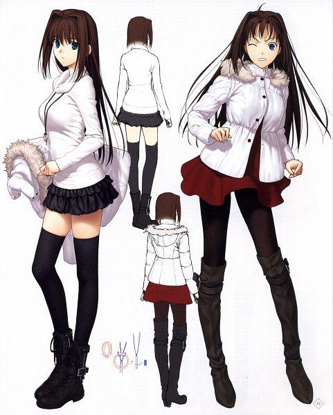 Tags: Anime, Koyama Hirokazu, TYPE-MOON, Mahou Tsukai no Yoru Special Material, Mahou Tsukai no Yoru, Aozaki Aoko, Scan, Official Art
