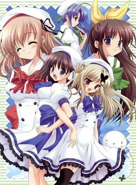 Tags: Anime, Ryohka, Izumi Tsubasu, feng, Memory of jade, Aozora no Mieru Oka, Nishimura Haruna, Suwa Nonoka, Hayami Iori, Nishimura Konatsu, Fujimiya Sui, Official Art