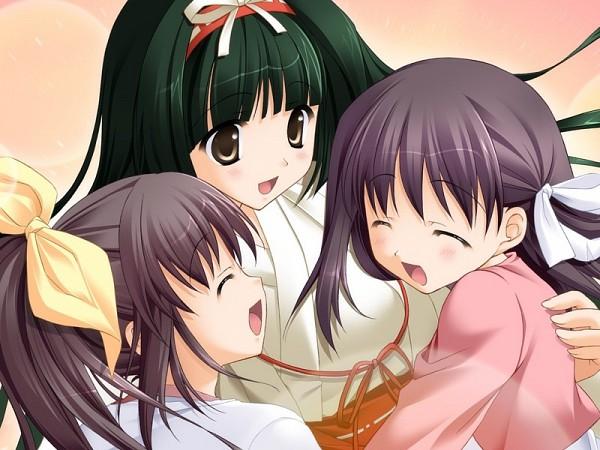 Tags: Anime, Ryohka, feng, Aozora no Mieru Oka, Nishimura Konatsu, Nishimura Haruna