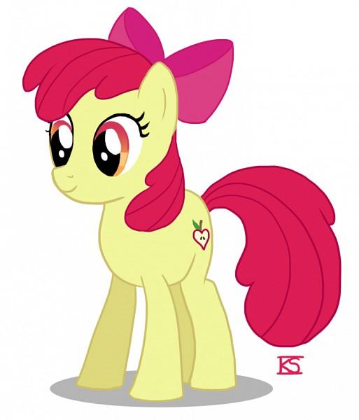 Tags: Anime, Glamourkat, My Little Pony, Apple Bloom, Cutie Mark, Fanart From DeviantART, deviantART, Fanart
