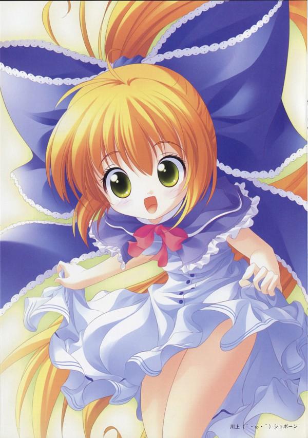 Tags: Anime, Ueda Ryou, Sora-iro no Organ, April (Sorairo no Organ), Official Art